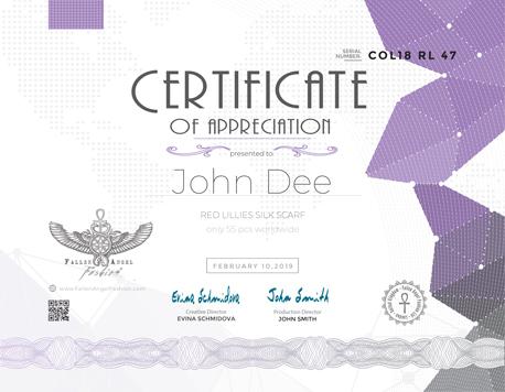 Fallen-Angel-Fahion-Certificate